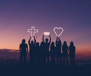 love, god, and jesus image