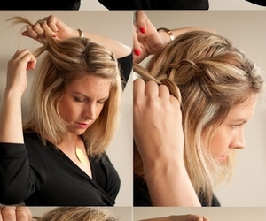 hair, hands, and cute image