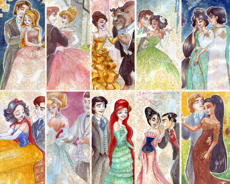Disney Couples Shared By Jermayne On We Heart It