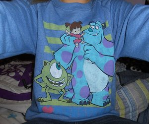 fashion, monsters inc, and blue image
