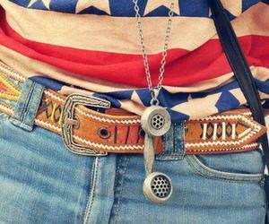 fashion, belt, and phone image