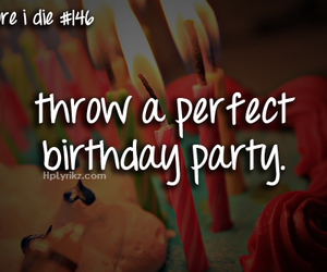 birthday, party, and perfect image