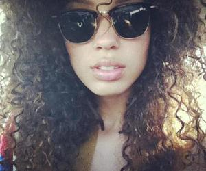 curl, hair, and fashion image