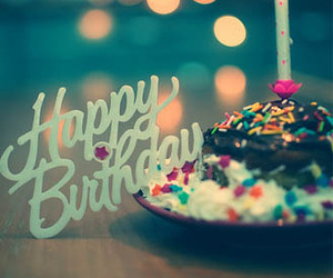 happy birthday, birthday, and cake image