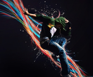 colors, hoodie, and jump image