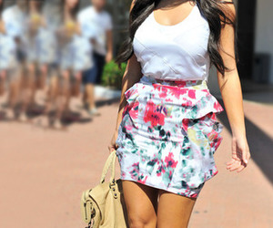 fashion, skirt, and kim kardashian image