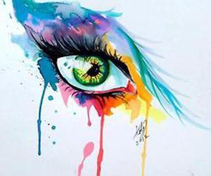 art, eyes, and eye image
