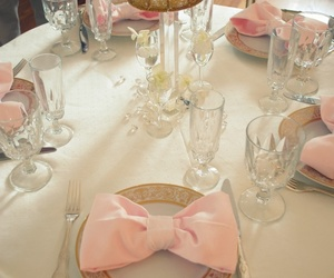 bows and pink image