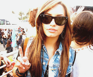 demi lovato, demi, and peace image