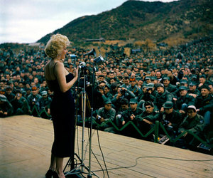 Marilyn Monroe, icon, and vintage image