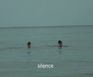 silence, grunge, and sea image