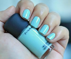 nails, mac, and blue image