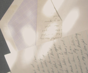 envelope, handwriting, and Paper image