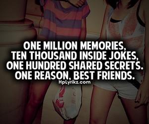 best friends, memories, and secrets image