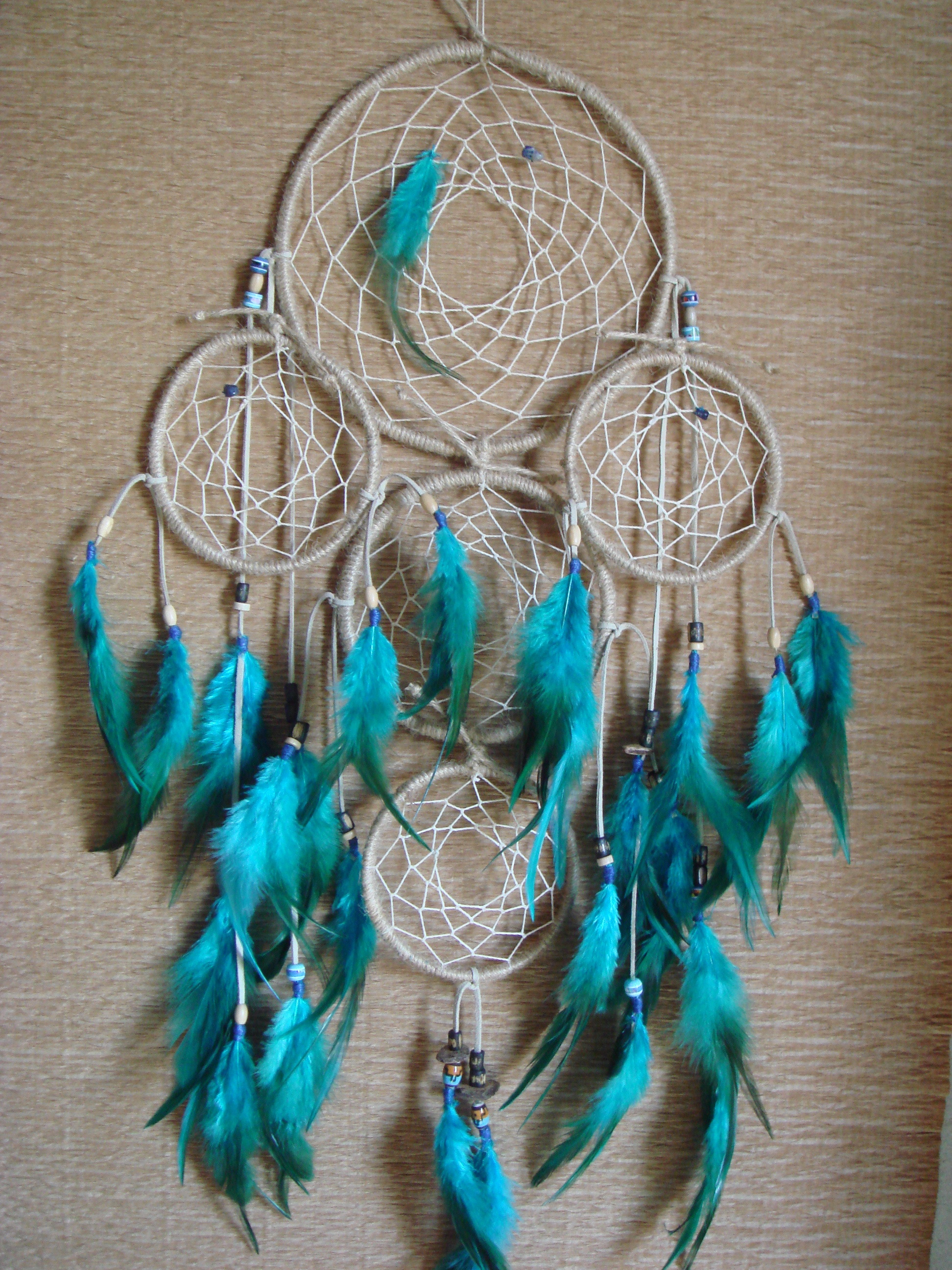 blue and dreamcatcher image