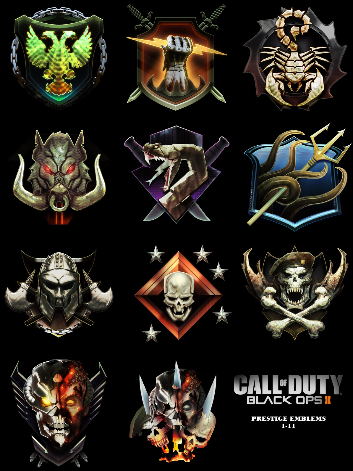 Call of duty black ops 2 prestige emblems high res gamechup call of duty black ops 2 prestige emblems high res gamechup video game news reviews features guides voltagebd