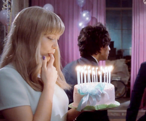 girl, Lea Seydoux, and cake image