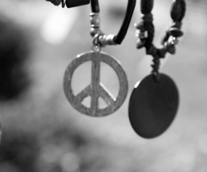 necklaces and peace image