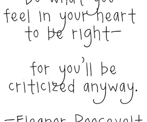 quotes, heart, and eleanor roosevelt image