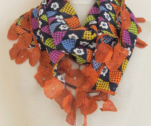 scarf, scarves, and circle scarf image
