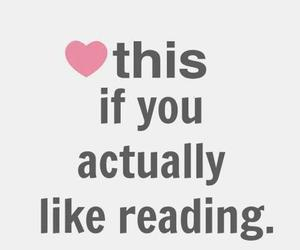 book, reading, and heart image
