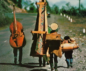 music, child, and vintage image