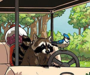 regular show, cartoon, and rigby image