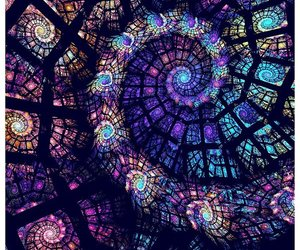 art, purple, and colors image