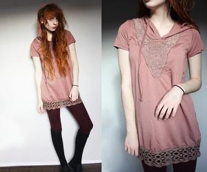 girl, redhead, and skinny image