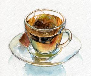tea and drawing image