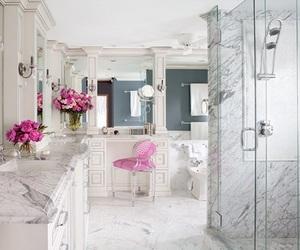 luxury, bathroom, and decor image