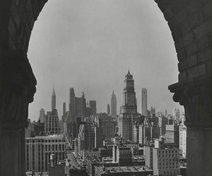 amazing, black and white, and city image