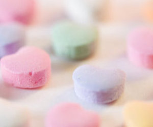 heart, candy, and green image