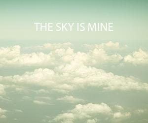 sky and mine image