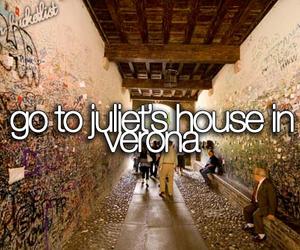 verona, juliet, and bucket list image