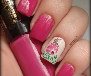 easter, nails, and konad image