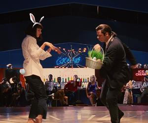 dance, egg, and film image
