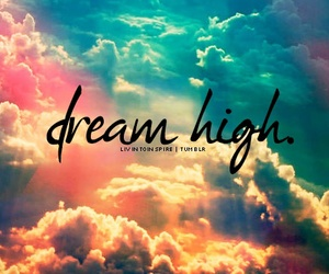 Dream, sky, and clouds image