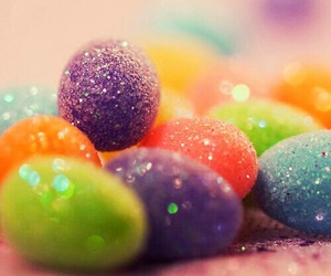 colorful, blue, and eggs image