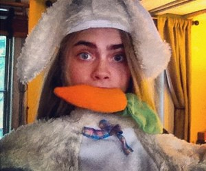 carrot, cara delevingne, and model image