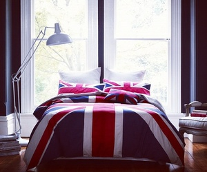 bed, bedroom, and british image