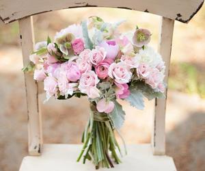 bouquet, flowers, and holidays image