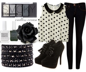 accessories, booties, and bracelet image