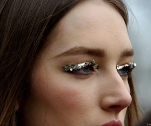 fashion, model, and eyes image