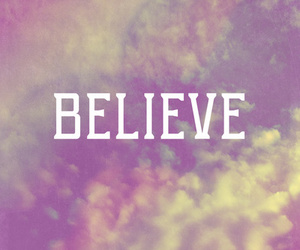 believe, look, and me image