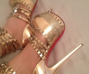heels, shoes, and louboutin image