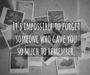 quote, forget, and remember image