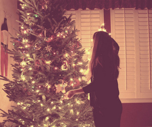 girl and christmas image