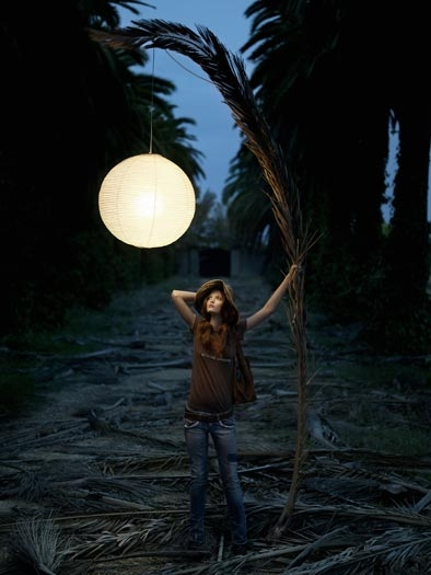 Eugenio Recuenco, girl, and night image