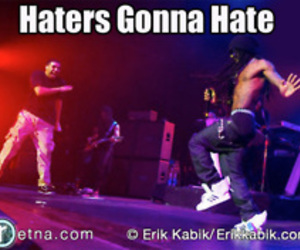 Drake, lil wayne, and haters image